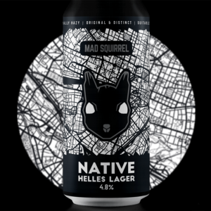 Mad Squirrel Native Helles Lager