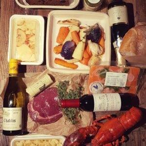 Luxury Lobster and Steak Box