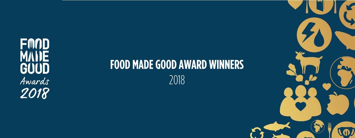 Food Made Good Award Winners 2018